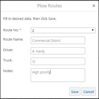 Plow Routes 2