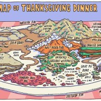 Mapping Thanksgiving!